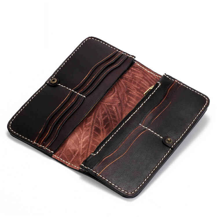 get online separation shoes elegant in style handmade mens biker wallet designer wallets with american indian