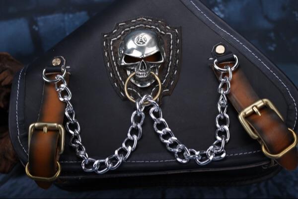 Motorcycle Tool Bag >> custom handmade leather motorcycle harley saddle bags   Makkashop